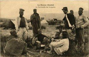 CPA AK La Tambouille des Senegalais MAROC (964229)