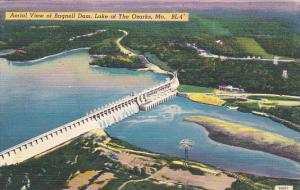 Aerial View Of Bagnell Dam Lake Of The Ozarks Missouri