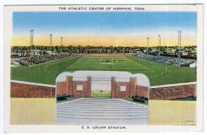 The Athletic Center Of Memphis, Tenn, E. H. Crump Stadium