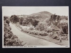 Worcestershire: MALVERN HILLS The British Camp from Jubilee Drive c1956