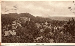 Connecticut Bethel Panoramic View 1906