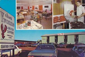Lobster Supper, CHEZ YVONNE Restaurant , CAVENDISH , P.E.I. , Canada , PU-1986