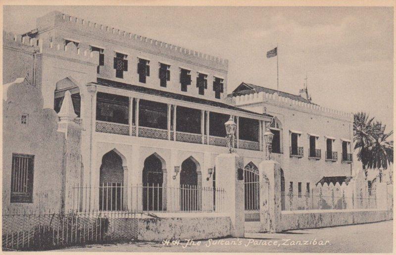 ZANZIBAR , Tanzania , 00-10s ; Sultan's Palace
