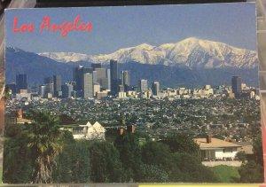 United States Los Angeles Skyline - posted 2000