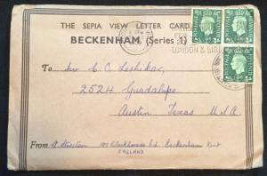 Postcards (6) Used Beckenham Series 1 England LB