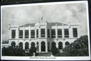 Tanzania Government House Dar-es-Salaam - posted 1957