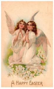 Easter,  Angels praying