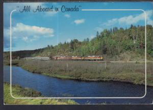 Agawa Canyon Tour Train,Algoma,Ontario,Canada BIN