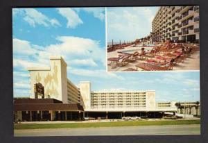FL La Playa Inn Hotel DAYTONA BEACH FLORIDA POSTCARD PC
