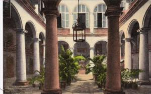 Cuba Havana Typical Cuban Patio