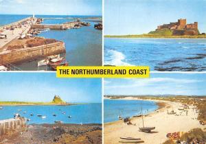The Northumberland Coast, Seahouses Harbour Bamburgh Castle Beach Beadnell