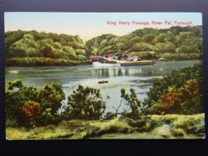 Cornwall FALMOUTH King Harry Passage RIVER FAL - Old Postcard