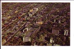 Aerial View of Downtown, Hamilton, Ontario, Canada
