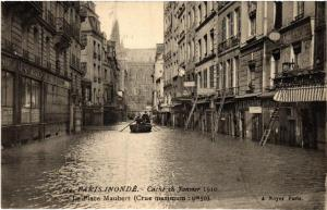 CPA PARIS (5e) La Place Maubert. (535226)