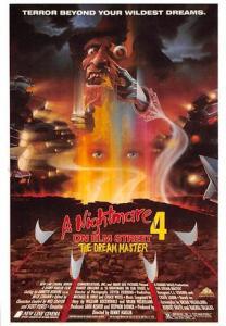 A Nightmare on Elm Street 4 Movie Poster