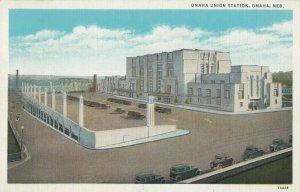 OMAHA , Nebraska , 1930-40s ; Union Station