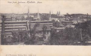 HUDSON, Massachusetts, PU-1905; View From Bellevue