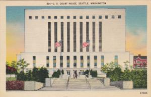 U. S. Court House, Seattle, Washington, 30-40s
