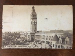 1912 Ferry Building, San Francisco, California C4