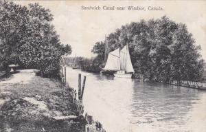 Sandwich Canal , near WINDSOR , Ontario , Canada , 00-10s
