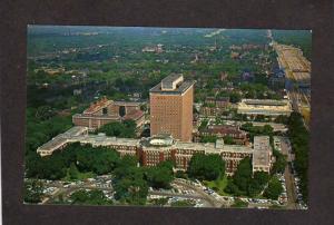 MI Michigan Henry Ford Hospital Detroit Grand Blvd Postcard