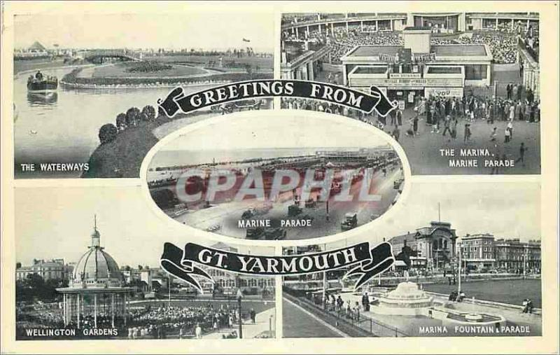 Modern Postcard Greetings from WP Yarmouth