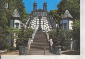 Postal 014231: Escalinata acceso al tempo de Bom Jesus en Braga, Portugal