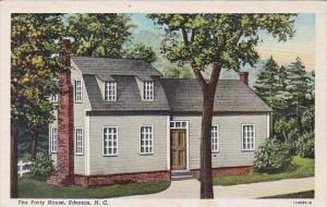 Tea Party House Edenton North Carolina