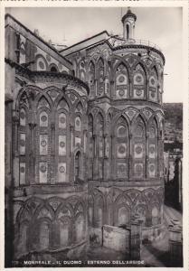 Italy Monreale Il Duomo Esterno dell'Abside Real Photo