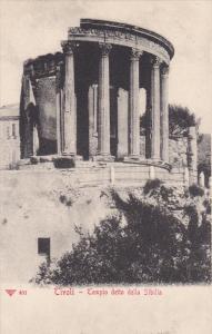 TIVOLI, Lazio, Italy, 1900-1910´s; Tempio Detto Della Sibilla