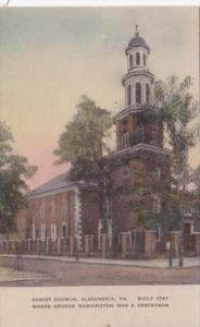 Church Christ Church Alexandria Virginia Albertype