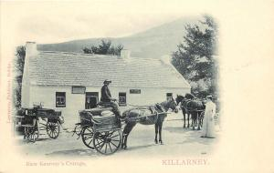 Horse & Cart Kate Kearney's Cottage Killarney County Kerry Republic of Ireland