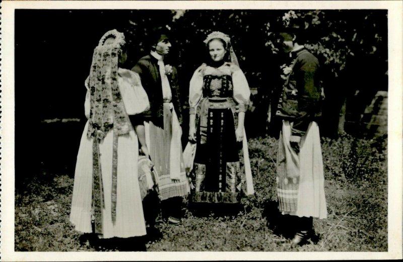 IMR00341 romania salaj stana sztana hungarian folk costume ethnics types ca 1942