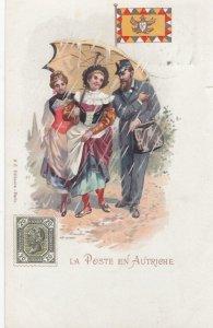 La Poste en Autriche , 1902