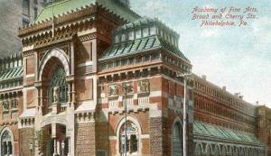 PA - Philadelphia, Academy of Fine Arts, Broad & Cherry Sts.