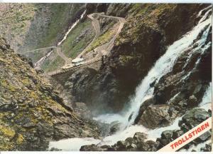 Norway, TROLLSTIGEN, unused Postcard