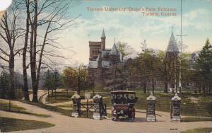 Queen's Park Entrance,Toronto University,Toronto,Canada,PU-1914