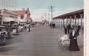 New Jersey Atlantic City Rolling Chairs On Board Walk