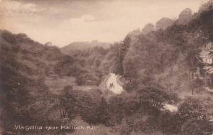 Scenic View of Cart on Dirt Road, Via Gellia near Matlock-Bath, Derbyshire, E...