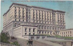 Fairmont Hotel, under the mangement of Palce Hotel Company, San Francisco, Ca...