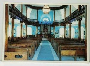 Jamaica Grand Cayman St. Andrew's Scots Kirk Church Interior View Postcard J8