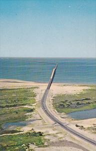 Chesapeake Bay Bridge-Tunnel, NORFOLK , Virginia ,  50-60s