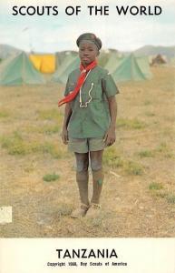 Scouts of the World: Tanzania (1968 Boys Scouts of America) Uniform