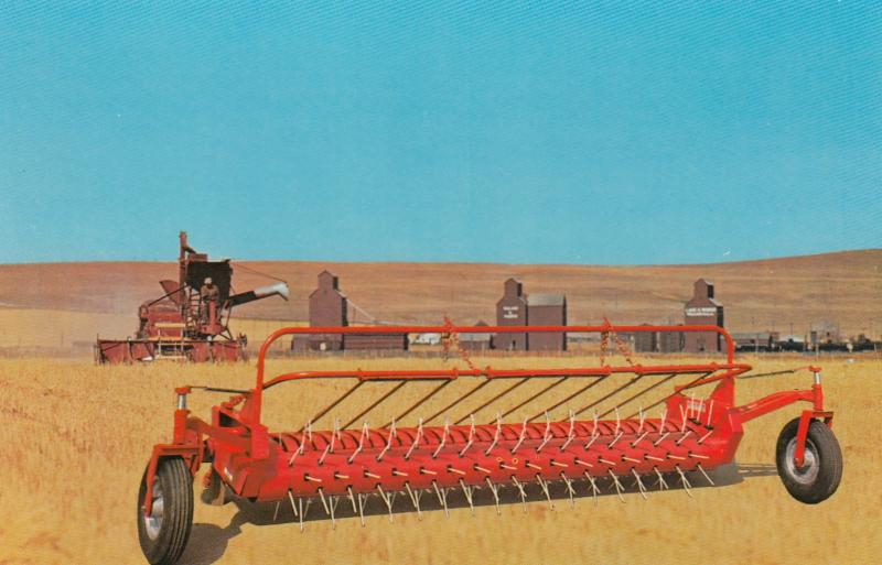 McCoy-Renn Nylon Tine Combine Pick-up , Distributated by DAKOTA Iron , 50-60s