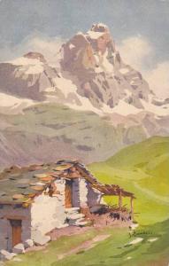 AS: S. Bonelli, Versant Italien, Mont Cervin, Switzerland, 1900-1910s