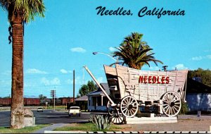 California Needles Welcome Sign On Highway 66