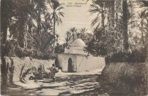 North Africa darvish marabout dans l` Oasis