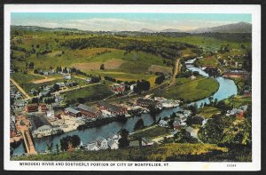Winooski River & Southern Montpelier Vermont Unused c1920s