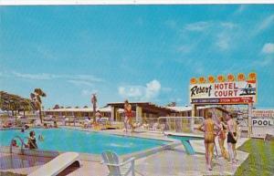 Florida Panama City Beach Resort Hotel Court
