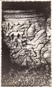 RP: Temple carving , Indonesia, 20-40s